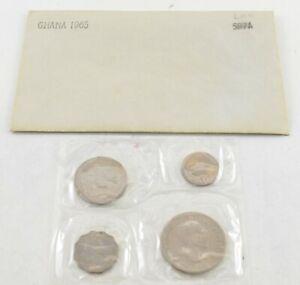 1965 Ghana 4 Coin Mint Set *711