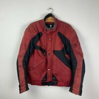 90s Vintage Rare Men's DAINESE Racing Bike F1 Motorcycle Jacket Size 54