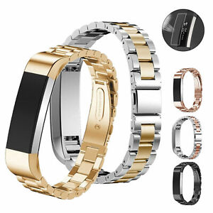Replacement Watch Band Wrist Strap Metal Stainless Steel For Fitbit Alta/Alta HR