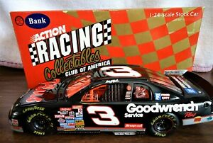DALE EARNHARDT #3 Goodwrench Services Plus 1998 RCCA Diecast 1/24 Chevy CW Bank