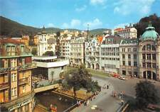 B110430 Czech R. Karlovy Vary Centre of the Spa With J.A. Gagarin Sprudel