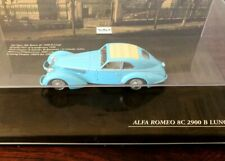 Minichamps 1/43 Alfa Romeo 8C 2900 B LONG FRAME 1938 light blue / no BBR BANG