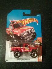 Hot Wheels DTX742017 HW Hot Trucks 6/10 Toyota 1987 Pick Up Truck(82/365)