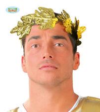 Corona Alloro Oro con da Greco Romano greca Romana Carnevale GUIRCA 16302