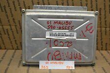 2001-2005 Pontiac Grand AM Engine Control Unit ECU 09378702 Module 362 -5E7