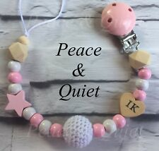Mother & Kids Initiative Baby Pacifier Clips Holder Chain Silicone Beads Food Grade Pacifier Chains Rose Baby Teether Teething Chain Toys Terrific Value