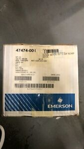 Emerson 47474-001 1 Phase 3 Speed Motor (208-230V, 1/2 HP, 1100 RPM)