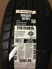 NEW DUNLOP DIREZZA DZ101 215/55R16 93V