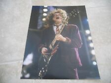 AC/DC Angus Young Live Concert Tour Guitar Color 11x14 Photo #3