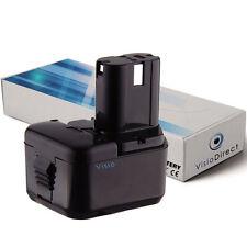 Batterie 12V 2000mAh pour Hitachi DS12DVF3 - Société Française -