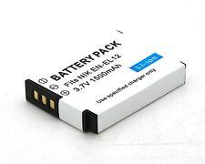 Battery for EN-EL12 Nikon Coolpix S8000 S8100 S8200 S9100 S9200 S9300 S9600