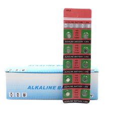 10Pcs AG4 LR626 377 1.55V Alkaline Button Coin Cells Watch Battery Batteries New