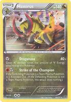 3 x Pokemon Card - Plasma Blast 69/101 - HAXORUS (holo-foil) - NM/Mint