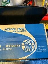 Smith And Wesson 78g  C02 Pellet Pistol With Org Box And Booklet May Need Seal