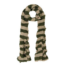 Premium Long Soft Knit Striped Scarf - Different Colors Available