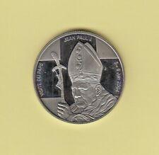 CONGO - 5 Francs 2004 - Visite du Pape Jean Paul II - UNC.