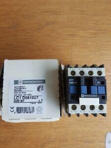 Telemecanique Contactor LC1D 0910 U7 4kw 5 HP 240v Coil
