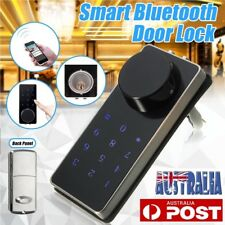 Bluetooth Smart Digital Door Lock Deadbolt Keyless Touch Password Home Security