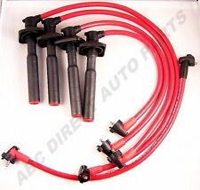 Celica 2.2L 5SFE  RAV4 2.0L High Performance 10mm Red Spark Plug Wire Set 23006R