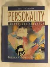 Personality: Theory and Research (7th Edition), John, Oliver P., Pervin, Lawrenc