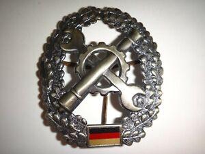 German Bundeswehr MAINTENANCE Battalion Metal Cap Badge