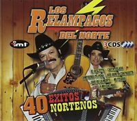 Relampagos Del Norte - 40 Exitos Nortenos [New CD]