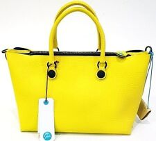 Borsa Gabs Shopping GSHO tg M Black Alce Double Yellow Giallo