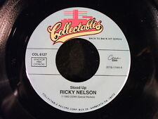 Stood Up/Teenage Idol by Ricky Nelson (Collectables COL 6127)
