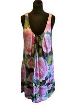 Noa Noa Floral Print Summer Dress Size M/L Read Full Description