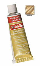AMACO Rub 'n Buff Wax Metallic Finish ** Grecian Gold **- Same Day Shipping