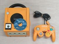 L860 Nintendo Gamecube Official Console Orange Japan GC w/controller memory game