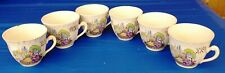 Early 20th. Century H. AYNSLEY & Co. ENGLAND Vintage COFFEE / TEA CUPS SET of 6