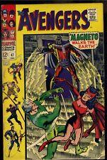 Avengers #47 Fine   1st Appearance Dane Whitman
