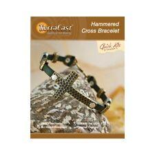 TierraCast Hammered Cross Bracelet Kit (Tk109)
