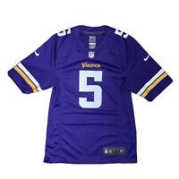 Nike On Field NFL Minnesota Vikings Purple Jersey Shirt Teddy BRIDGEWATER #5 S