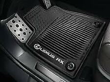 Lexus RX350 RX450H (2016-2018) OEM Genuine ALL WEATHER FLOOR MATS 4pc (Brown)