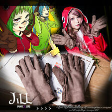 japan anime cosplay hatsune Miku Matryoshka Doll suede winter gloves JMG6051