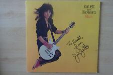 "Joan Jett and The Blackhearts Autogramm signed LP-Cover ""Album"" Vinyl"