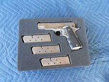 "CUSTOM Foam Insert for COLT 1911 4-1/4"" BARREL Fits Apache 2800 Case Ships FREE"