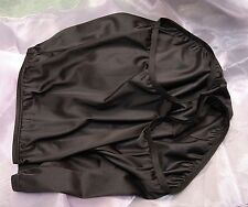 VANITY FAIR BLACK 15712/15812 PERFECTLY YOURS NYLON BRIEFS PANTIES~8/XL~NW