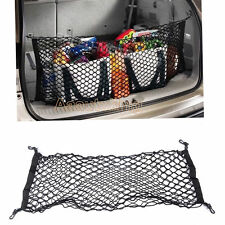 Rear Trunk Cargo Net Mesh Storage Organizer Pocket fit for Subaru Forester Black