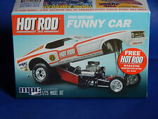 MPC HOT ROD Ford Mustang Funny Car 1/25 scale Kit #MPC801