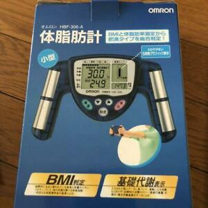Omron HBF-306-A Body Fat Composition Scale Blue color New unused #895