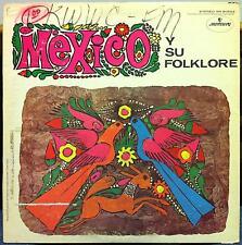 Mexico Various - Y Su Folklore Musical LP VG+ SR-90522 Mercury Living Stereo
