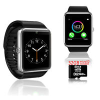 GREAT GT8 Bluetooth OLED Display Smart Watch Phone w/ Pedometer - 32gb Included