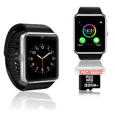 Indigi GT8 Bluetooth OLED Display Smart Watch Phone w/ Pedometer - 32gb Included