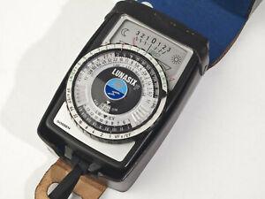 Gossen Lunasix F Light Meter - fully working - mint-