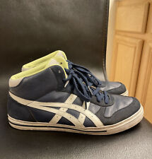ASICS Onitsuka Tiger Blue Leather Men's Sneakers Shoes Sz 9