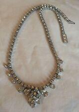 Unbranded Rhinestone Silver Vintage Costume Jewellery