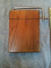 Goodwood Teak Cheese Cutting Board With Wire Cutter